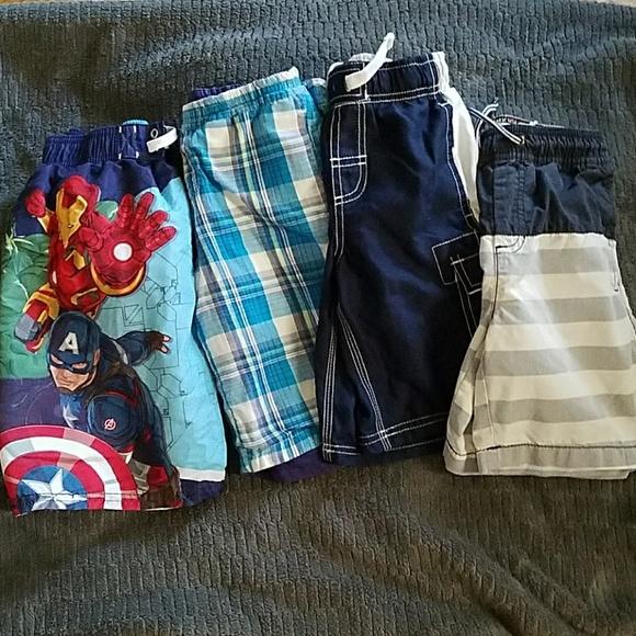 Marvel Other - Boys Size 6-7 Shorts BUNDLE